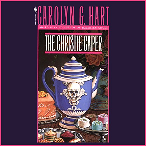 The Christie Caper audiobook cover art