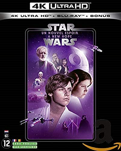 STAR WARS Episode IV - UN NOUVEL ESPOIR (2019) - Blu-ray 4K [4K Ultra HD + Blu-ray + Blu-ray Bonus]