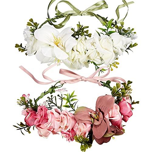 Corona de flores para la cabeza