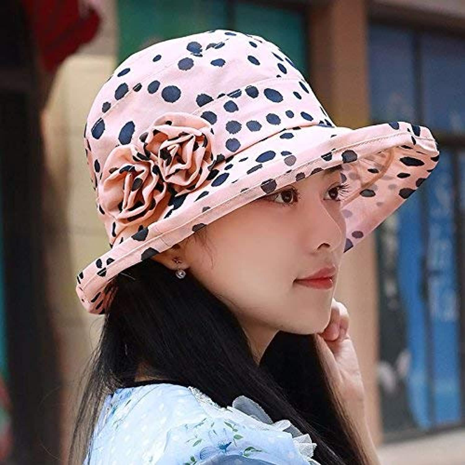 Chuiqingnet Hat female Summer Snow spinning cap over the cold cap hats basin cap mother cap low, outdoor beach hat