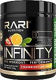 RARI Nutrition - INFINITY Preworkout - 100% Natural Pre Workout Powder - Keto and Vegan Friendly -...