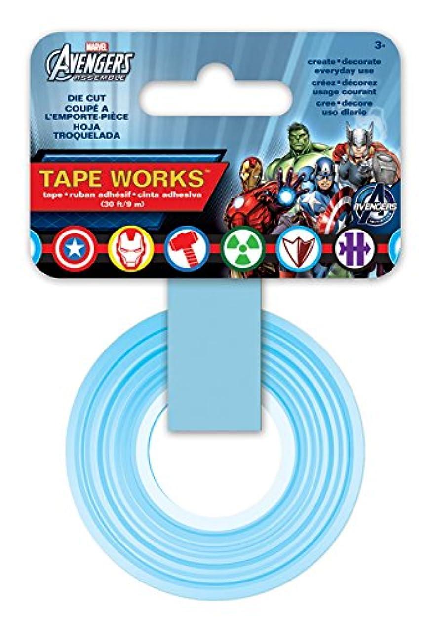 Tape Works Marvel Hero's Die Cut Tape ubpwa1681