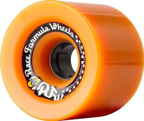 Sector 9 Race Formula Skateboard Wheel 74mm 82A Seasonal Wrap Introduction Orange Price reduction