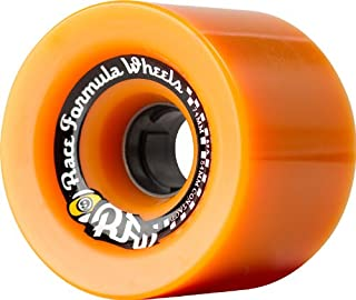 Sector 9 Race Formula Skateboard Wheel, Orange, 74mm 82A