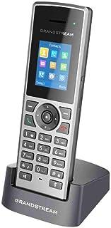 Telefone IP DECT Grandstream Sem Fio 10 Linhas 10 Contas SIP Audio HD - DP722
