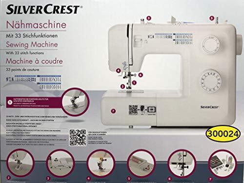 Machine à coudre SilverCrest SNM33, 33points de couture