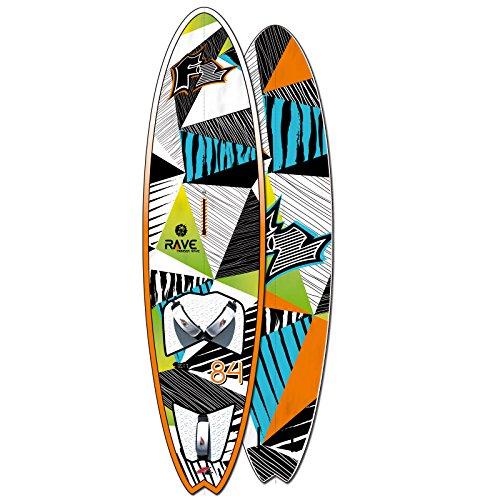 F2 RAVE PURE WAVE WINDSURF-BOARD ~ 2017/18 VOLUMEN: 84 L SURFBOARD