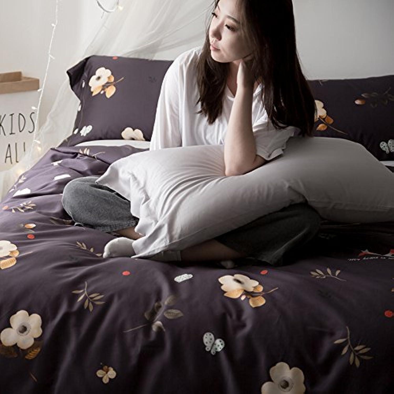 Duvet Duvet Duvet Cover & Pillowcase Set Bedding Quilt Case Four sets,A Full B072QZ6WP2 c576d5