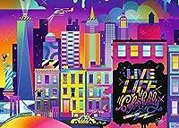 大人のジグソーパズル1000個-カラフルなニューヨークのジグソーパズルゲーム教育玩具ギフト家の装飾38x26cm