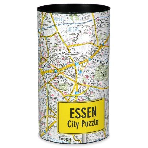 Extragoods City Puzzle - Essen Premium Puzzle Erwachsenenpuzzle Spiele Puzzle Städtepuzzle