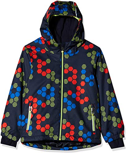Killtec Kinder Carry Mini Funktionsjacke/Winterjacke/Outdoorjacke Mit Kapuze, 10.000 Mm Wassersäule, Wasserdicht, rot, 110/116