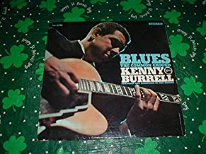 Blues The Common Ground Kenny Burrell SIGNED V6-8746.