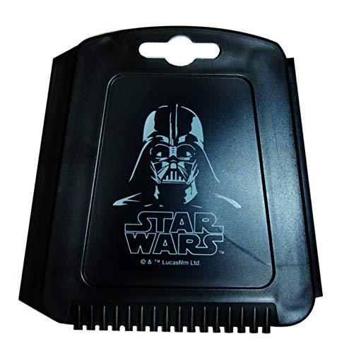 Star Wars' Trapez Eiskratzer für das Auto, Eisschaber mit Eisbrecher-Zähnen und Wasserabstreiflippe