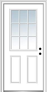 Best two panel fiberglass entry door Reviews