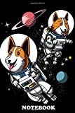 Notebook: This Space Corgi Dog Astronauts Poster Makes A Pe , Journal for Writing, College Ruled Size 6' x 9', 110 Pages
