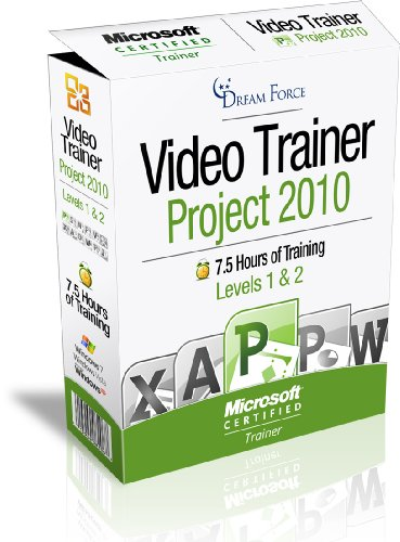 Project 2010 Training Videos – 7.5 Hours of Project 2010 training by Microsoft Office: Specialist, Expert and Master, and Microsoft Certified Trainer (MCT), Kirt Kershaw