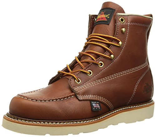 Thorogood Women's 6-Inch MO Work Boot, Brown, 8 M US