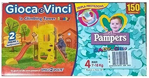 Pampers Baby Dry 150PANNOLINI Taglia 4Maxi (7–1815–36kg)