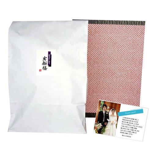 【結婚式の引出物に】オリジナルメッセージカード付き!新潟コシヒカリ(有機栽培米) 3kg 贈答箱入り[包装紙:鹿の子]