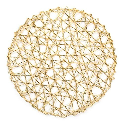 JIAYAN 38cm Round Table Placemats Non-Slip Coaster Mats Dining Coaster Pad Restaurant Supplies Accessories Home Decor