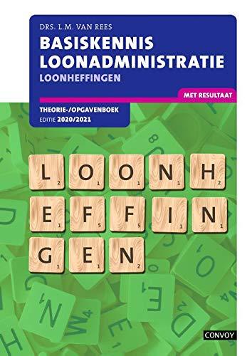 BKL Loonheffingen Theorie-/opgavenboek 2020-2021