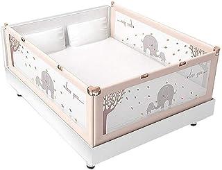 B-a-b-y Riel de Cama de bebé de 3 Lados, Protector de riel de Cama de Seguridad de Cama tamaño Queen for bebés (Size : 150...