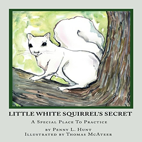 Little White Squirrel's Secret audiobook cover art