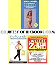 RARE, OUT-OF-PRINT, 1988, 20-YR-OLD COLLECTIBLE VHS: Denise Austin Non-Aerobic Workout *PLUS 2 FREE GIFTS: VHS - Walk Away The Pounds - Leslie Sansone 3 Miles - Super Fat Burning *PLUS* PAPERBACK - A Week In The Zone by Barry Sears *SHIPS SAME DAY*