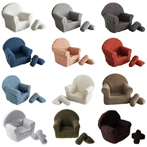 BELTI 3 unids/Set bebé recién Nacido posando Mini sofá sillón Almohada fotografía Infantil Prop