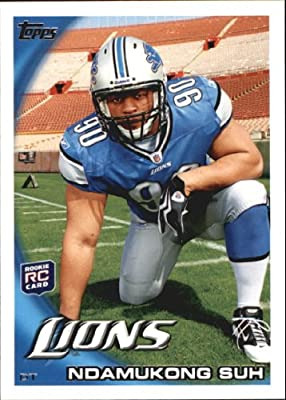 2010 Topps Football Rookie Card #360A Ndamukong Suh