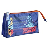 CERDÁ LIFE'S LITTLE MOMENTS - Estuche Triple Escolar Darth Vader Star Wars - Licencia Oficial de Disney Studios, Multicolor, Infantil (CRD-2100003079)