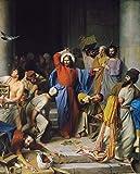 Get Custom Art Carl Bloch - Jesus Cleansing...