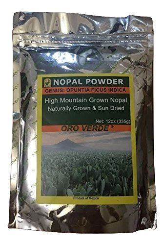Nopal Powder - 100% Pure High Mountain Grown & Sun-Dried, 335g
