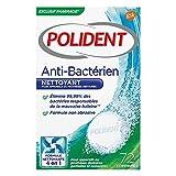 Polident - Nettoyant - Pour Prothèses Dentaires Partielles ou Complètes - Anti-Bactérien 96 Comprimés