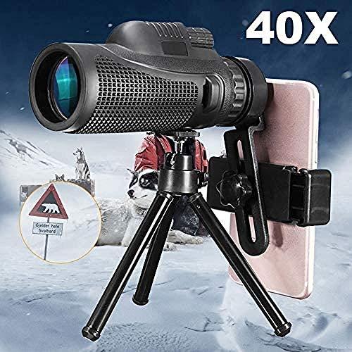 QWEASD 40X Zoom Monoculaire Mobiele Telefoon Telescoop Lense 40X60 voor Iphone Huawei Xiaomi Smartphones Telefoon Camera Lenzen Outdoor Jacht