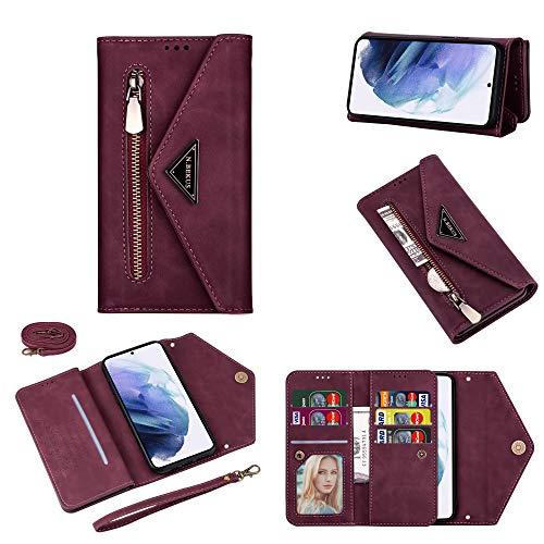 TOPOFU Funda para Samsung Galaxy S20 FE 5G Case, Cartera de Cuero...
