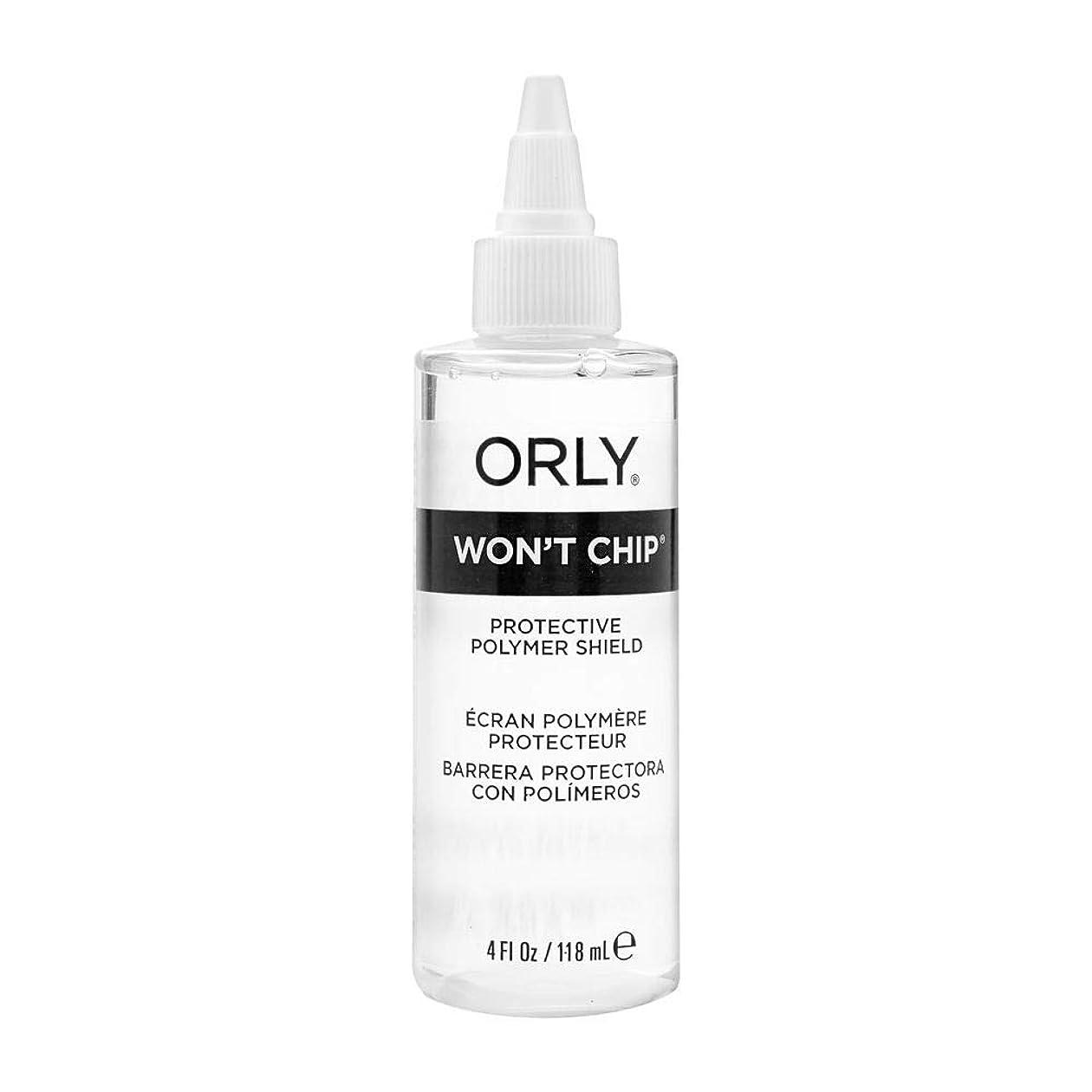 恐れる愛撫召集するOrly Nail Treatments - Won't Chip Top Coat - 4oz / 118ml