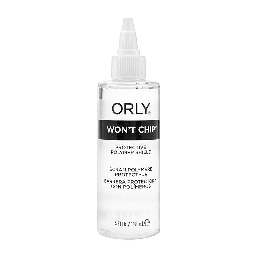 嫉妬誰も買い物に行くOrly Nail Treatments - Won't Chip Top Coat - 4oz / 118ml