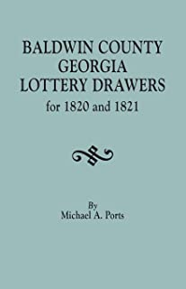 Baldwin County, Georgia, Lottery Drawers for 1820 and 1821