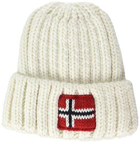 Napapijri K Semiury 3 Sombrero, Blanco (Bright White 002), 1 (Talla del...