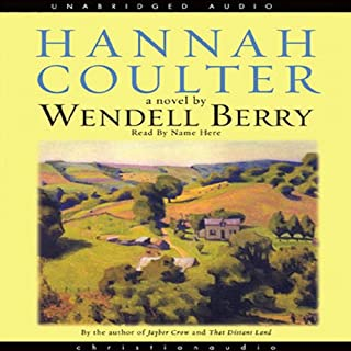 Hannah Coulter audiobook cover art