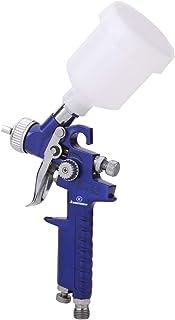 Pistola de pulverización de pintura de aire de pistola de pintura HVLP con regulador de aire de metal