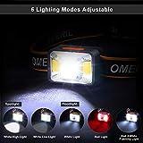 Zoom IMG-1 omeril lampada frontale led da