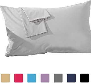 trendbeddingmart Premium 600TC 100% Cotton Set of 8 Pillow Cases (Silver -20 X 30)