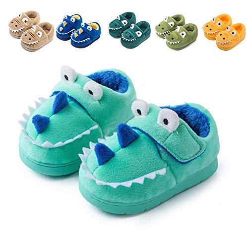 Fadezar Zapatillas De Estar por Casa para Niñas Niños Invierno Pantuflas Animales Antideslizantes Cálido Slippers