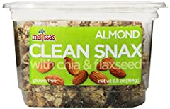 CRUNCHY & DELICIOUS: Melissa's Clean Snax are delicious, cruncy, bite-sized squares made of chia and flaxseed and naturally sweetened with honey and lightly salted for a delicious, sweet-salty taste that will elevate your snack time with natural flav...
