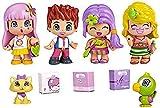 Pinypon - City Pack con Cuatro Figuras (Famosa 700012060)