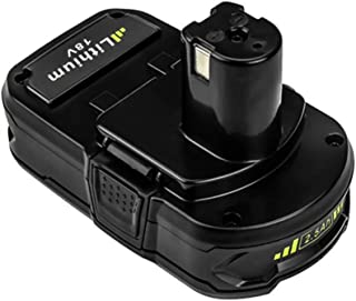 Best terratek 18v cordless drill replacement battery Reviews