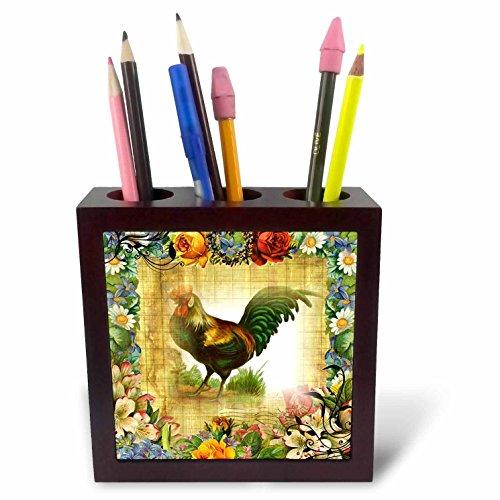 3dRose PH 224555_ 1Ich Habe Nicht genug Kaffee oder Mitte Fingern für Today-Tile Stifthalter, 12,7cm