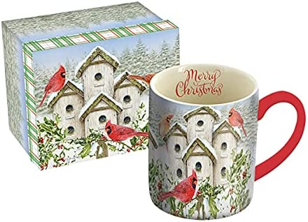 Lang Cardinal Award Birdhouse 14 oz Multi gift Large 10995021230 Mug